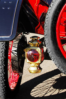 Photograph - 1911 Ford Model T Torpedo Lamp by Jill Reger