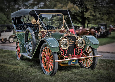 Photograph - 1911 Oldsmobile Limited  by Susan Rissi Tregoning