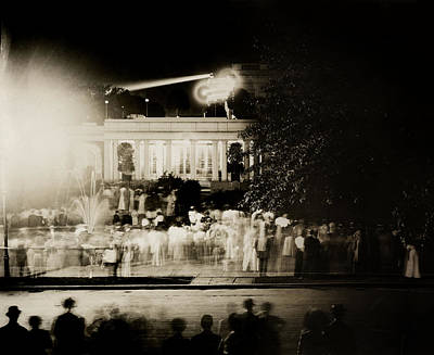 Photograph - 1911 President Taft Anniversary Party by Historic Image
