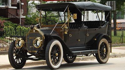 Photograph - 1911 Stoddard Dayton by Dennis Pintoski