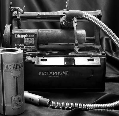 Dictaphones Photograph - 1912 Dictaphone  by Ricky L Jones