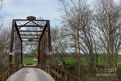 Photograph - 1912 Green Bridge by Jennifer White