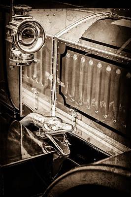 1912 Photograph - 1912 Rolls-royce Silver Ghost Rothchild Et Fils Style Limousine Snake Horn -0711s by Jill Reger