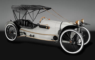 Photograph - 1913 Imp Cyclecar  -  1913impcyclecargry171742 by Frank J Benz