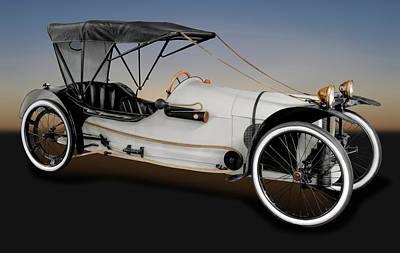 2 Seat Photograph - 1913 Imp Cyclecar  -  1913impmotorcyclecar171742 by Frank J Benz