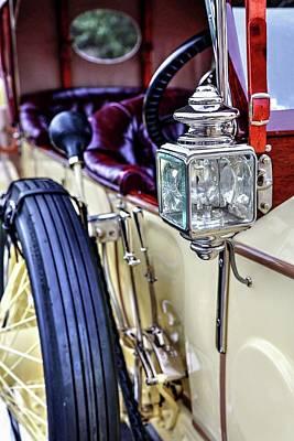 Photograph - 1913 Rolls Royce Silver Ghost Detail by Carol Montoya