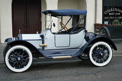 Photograph - 1914 Buick  by Bill Dutting