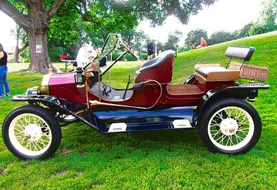 Photograph - 1914 Model T Ford by Stephanie Moore