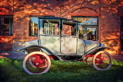 Photograph - 1914 Trumbull Cyclecar by Susan Rissi Tregoning