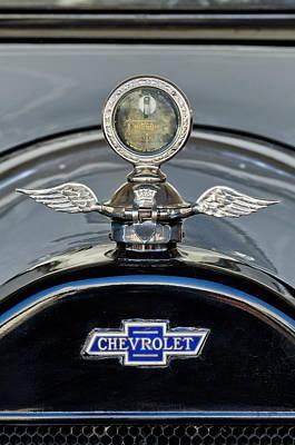 Hoodies Photograph - 1915 Chevrolet Touring Hood Ornament 2 by Jill Reger