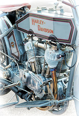 Harley Davidson Photograph - 1915 Harley Davidson 11f by Tim Gainey