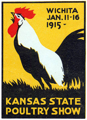 Painting - 1915 Kansas Poultry Fair by Historic Image