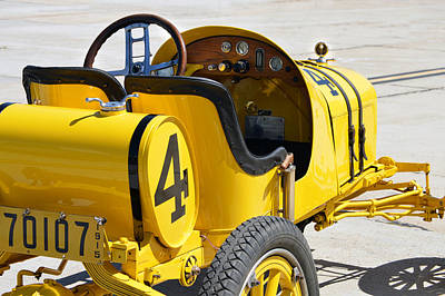 Photograph - 1915 Runabout Racer by Bill Dutting
