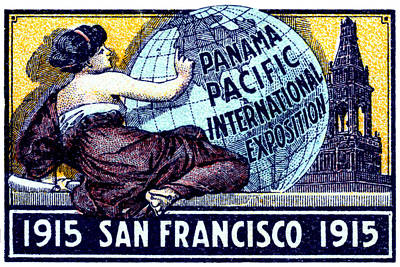 Painting - 1915 San Francisco Expo Poster by Historic Image