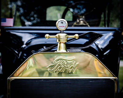 1916 Ford Model T Touring Tin Lizzie Art Print