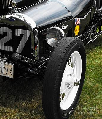 Photograph - 1920-1930 Ford Racer by Neil Zimmerman