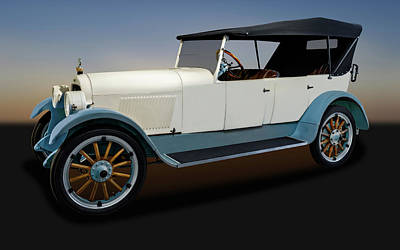 Photograph - 1920 Lexington Minute Man Six Touring Car  -  1920lexingtonminuteman171783 by Frank J Benz