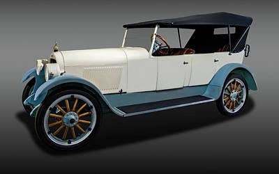 Photograph - 1920 Lexington Minute Man Six Touring Car  -  1920lexingtontouringfa171783 by Frank J Benz