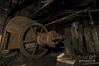 Photograph - 1920 Superior Oilfield Engine Pump House II by Keith Kapple