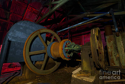 Photograph - 1920 Superior Oilfield Engine Pump House by Keith Kapple