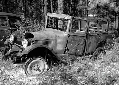 Photograph - 1920's Ford by Denise Bruchman