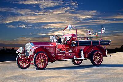 American Lafrance Fire Truck Art Fine Art America