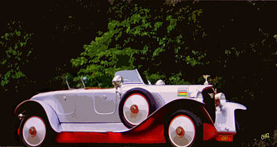 Sports Paintings - 1921 Farman A6B Super Sport Torpedo by CHAZ Daugherty