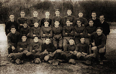 Champion Digital Art - 1921 Royal Cc Football Champions by Bill Cannon