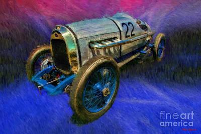 Photograph - 1922 Delage La Torpille by Blake Richards
