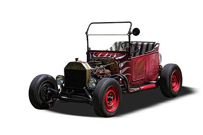 1922 Ford T-bucket Rat Rod Art Print by Nick Gray