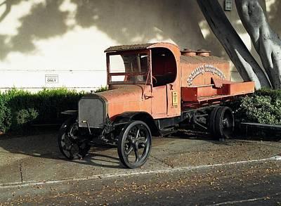 Photograph - 1922 Mack Truck by Dean Robinson