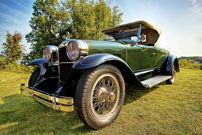 Car Photograph - 1923 Duesenberg Roadster by Marcia Colelli