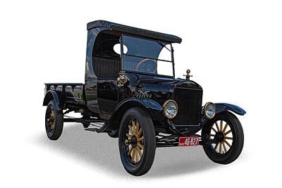 1923 Ford Model T Truck Art Print by Nick Gray