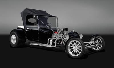 1923 Ford T-bucket  -  23fdtbucketgry9555 Art Print