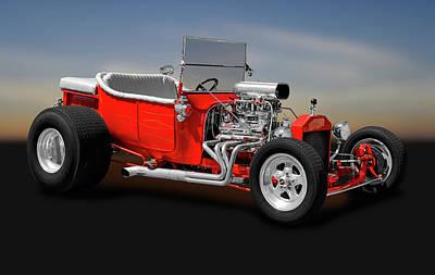 1923 Ford T-bucket Roadster    -    1923fordtbucket170588 Art Print