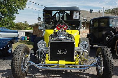 Photograph - 1923 Ford T Bucket With Eyes by Robyn Stacey