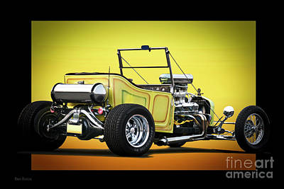 1923 Ford 'touring T' Roadster Art Print by Dave Koontz