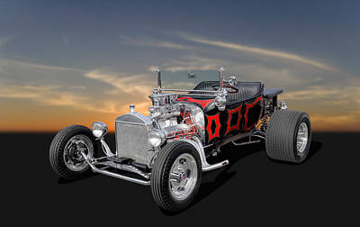 1923 Ford - Turnover T - 2 Art Print