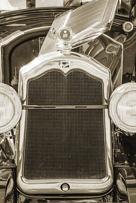 Photograph - 1924 Buick Duchess Antique Vintage Photograph Fine Art Prints 110 by M K  Miller