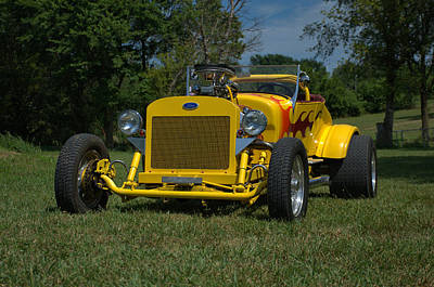 Photograph - 1924 Ford Model T Roadster Hot Rod by TeeMack