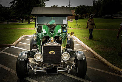 Photograph - 1924 Ford Model T Touring Hot Rod 5509.007 by M K  Miller