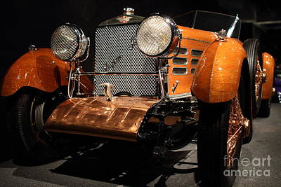 1924 Hispano Suiza Dubonnet Tulipwood . Grille Angle Art Print by Wingsdomain Art and Photography