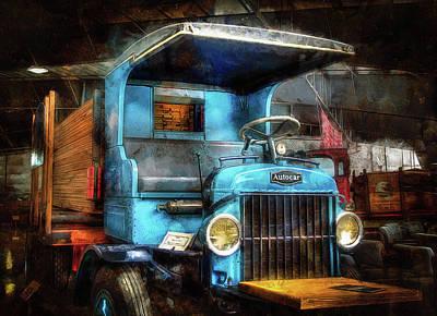Photograph - 1925 Autocar Truck by Thom Zehrfeld