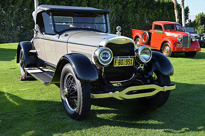 Photograph - 1925 Lincoln Roadster by Bill Dutting