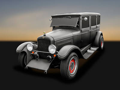 Photograph - 1925 Nash 4 Door Sedan   -   1925nasn4dsd500 by Frank J Benz