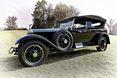 Beauty Photograph - 1925 Rolls Royce Phantom 1 by Marcia Colelli