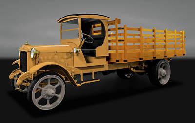Photograph - 1926 Acme Model 125 5 Ton Truck   -  19265tonacmetruckgry171937 by Frank J Benz