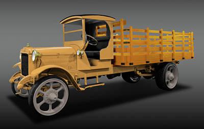 Photograph - 1926 Acme Model 125 5 Ton Truck  -  1926acmetruck5tonfa171937 by Frank J Benz