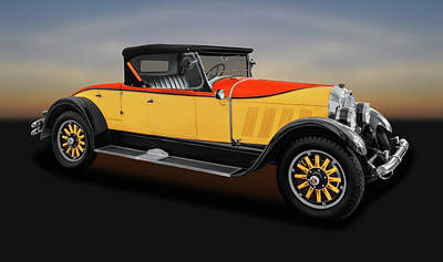 Photograph - 1926 Auburn 8-88 Convertible Coupe Roadster  -  1926auburn8-88cvcperdstr171665 by Frank J Benz