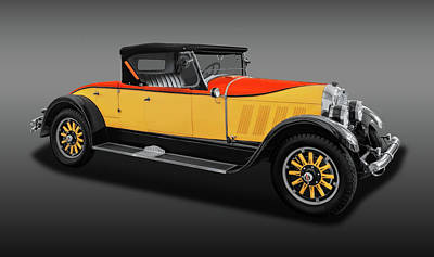 Photograph - 1926 Auburn 8-88 Convertible Coupe Roadster  -  1926auburn888roadsterfa171665 by Frank J Benz